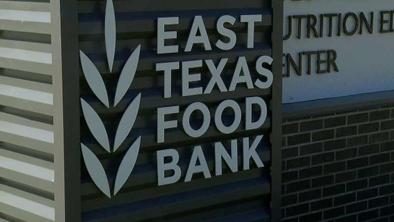 With thanksgiving dinner coming up, The East Texas Food Bank is expanding their help to...