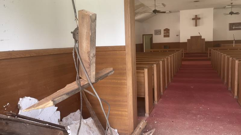 Church is in need of donations to complete projects caused by tornado destruction