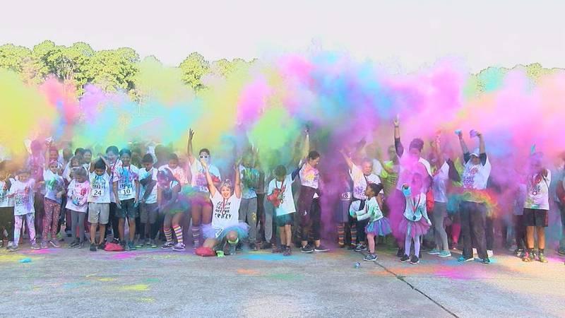Angelina County Heart Alliance Color Run