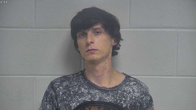 Austen Walker new booking photo early Friday morning