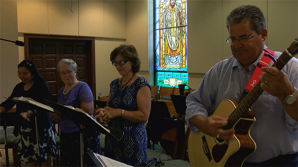 For nearly three decades, Scirto has served as a cantor and musician at the Cathedral of the...