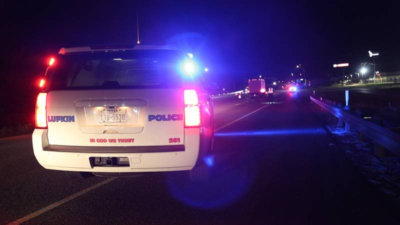 A vehicle struck and killed a bicyclist who was riding his bike on Loop 287 early Saturday...