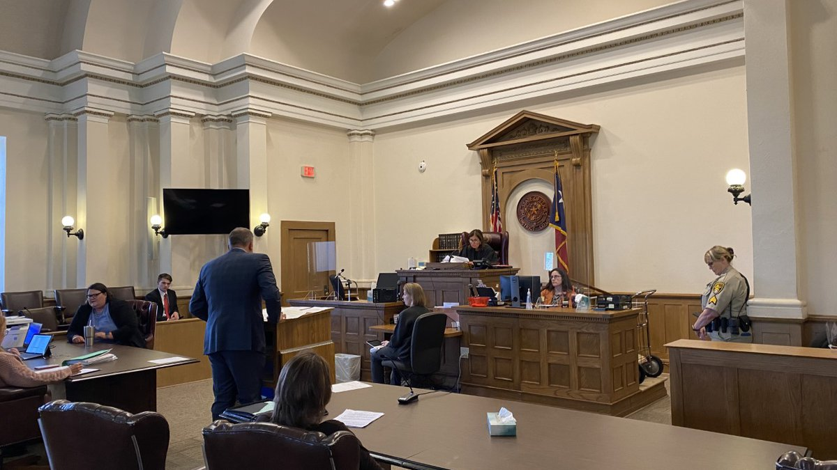 Neches ISD administrator Kimberlyn Snider made an appearance in court Friday.