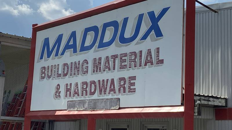 Maddux building material and hardware is one of several lumber outlets in Lufkin that have been...