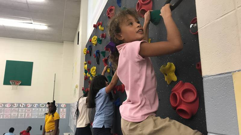 Anderson Elementary School in Lufkin hosted Bring Your Loved Ones to P.E. Day, which promoted...