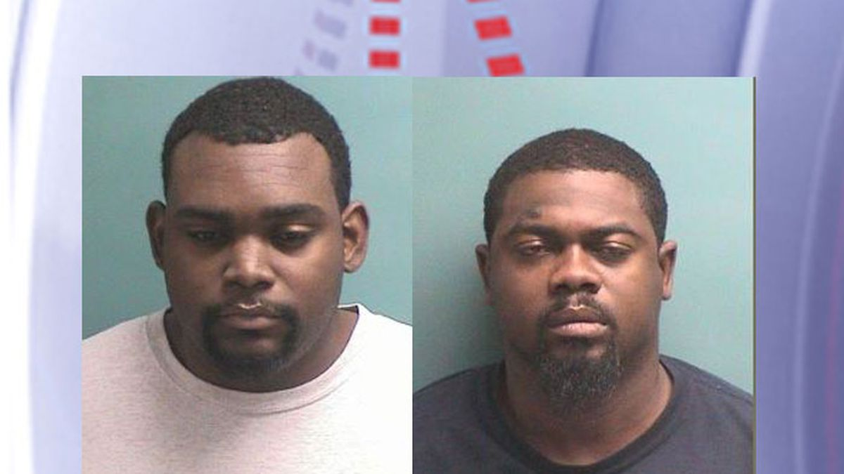 Pictured are Christoper Session (left) and Jimmy Watts Jr. (Source: Nacogdoches County Jail)