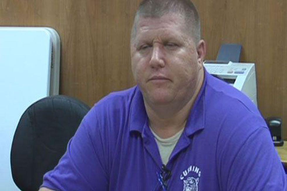 Cushing ISD Police Chief Shane Johnson (Source: KTRE Staff)
