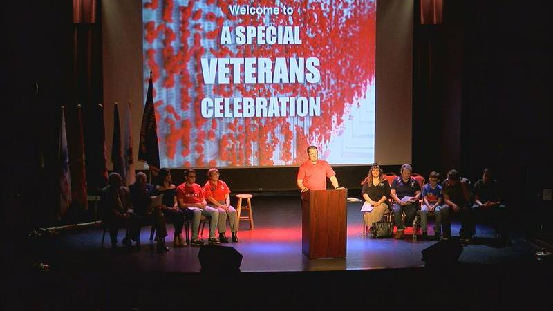 American Legion Post host special celebration for Veterans at Pines Theater