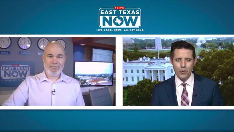 East Texas Now Host Jeremy Butler interviews ABC Political Director Rick Klein. (Source: KLTV...