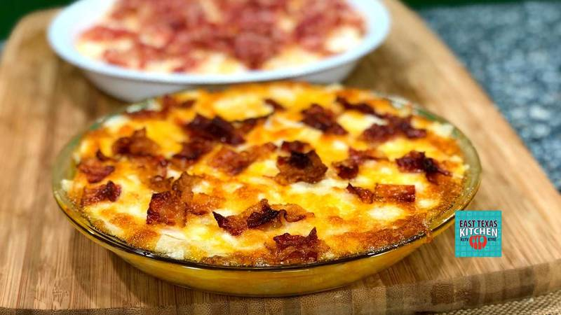 This dip features just four ingredients, and the key is using sweet onions, like Noondays....